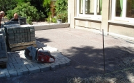 <h5>Die neu Terrasse im Rohbau</h5><p></p>